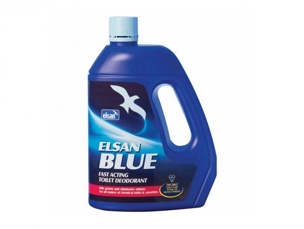 Elsan 4 Litre Blue Toilet Fluid