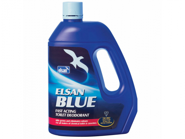 Elsan 4 Litre Blue Toilet Fluid
