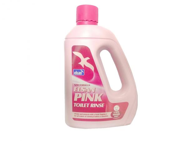 Elsan 2 Litre Pink Toilet Rinse